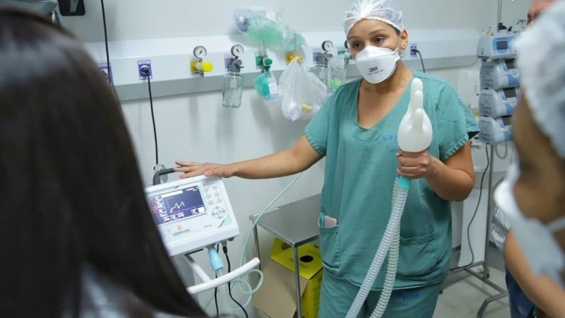 Objetivo do curso é capacitar os profissionais da saúde que estão trabalhando diretamente no enfrentamento da pandemia do coronavírus
