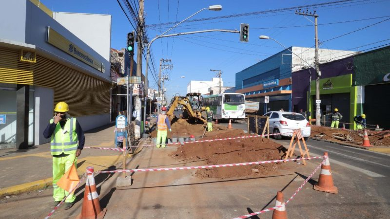 Transerp alerta sobre respeito à sinalização de trânsito em obras da cidade