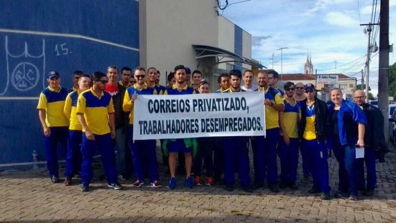 Funcionários dos Correios entram em greve na região de Ribeirão Preto