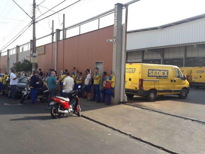 Greve dos Correios completa 11 dias na região de Ribeirão Preto-SP e não tem previsão de termino