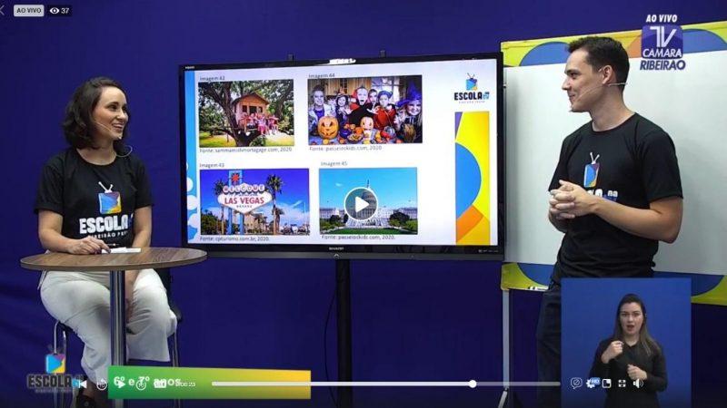 Escola na TV chega a 35,5 mil visualizações na primeira quinzena de exibição