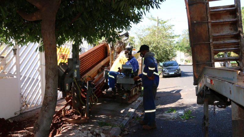 Iniciadas as obras de substituição de redes no Jardim Macedo
