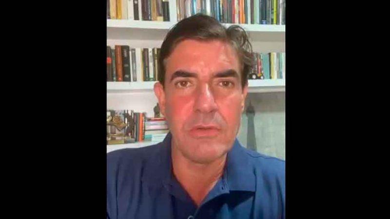 O prefeito de Ribeirão Preto Duarte Nogueira anunciou em suas redes sociais que está infectado pelo Corona Vírus.