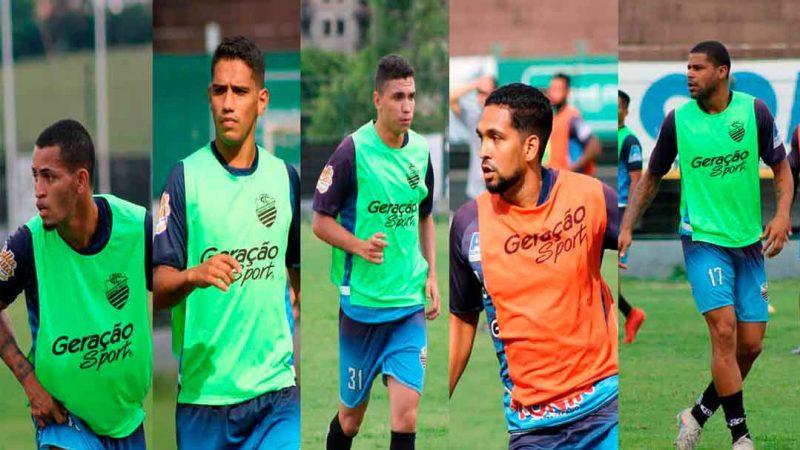 O Comercial FC anunciou cinco reforços para a disputa da série A3 do campeonato paulista. Os atletas têm idades entre 21 e 28 anos e se juntam ao restante do elenco que permaneceu para a temporada 2021.