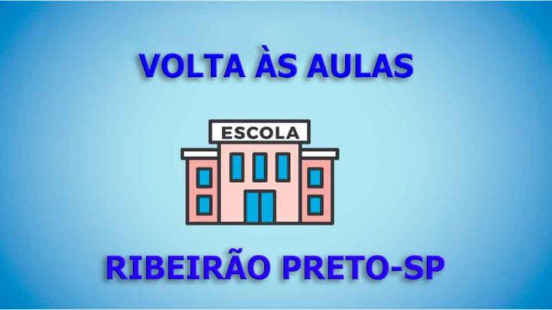 VOLTA ÀS AULAS EM RIBEIRÃO PRETO. As redes de ensino, Municipal e Estadual projetam o retorno das aulas presenciais para a primeira semana de fevereiro em Ribeirão Preto.