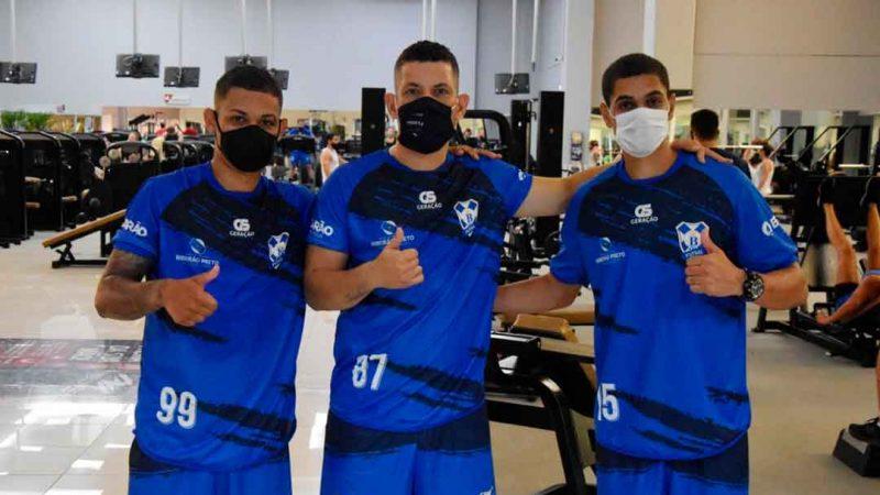 Walissinho, Matheus e Hebão reforçam o time ribeirão-pretano na temporada 2021, que já está em pré-temporada para disputar competições da Liga Paulista e outros torneios
