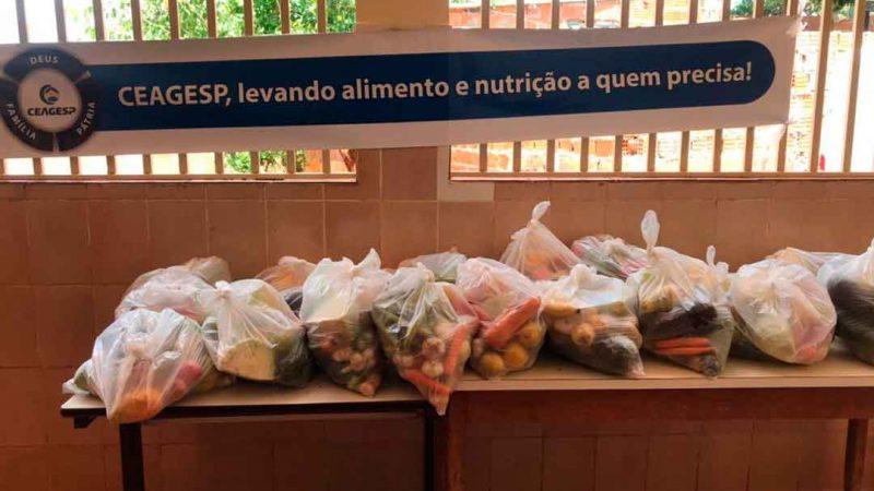 Em sistema de revezamento, mais três comunidades serão atendidas com a entrega semanalmente de kits hortifruti