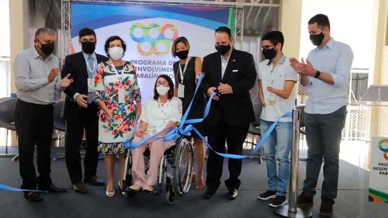 A Associação dos Deficientes Visuais de Ribeirão Preto (Adevirp) recebeu a cerimônia que marca o início do projeto Paradens (Programa de Desenvolvimento Paralímpico), que irá percorrer oito Regiões Esportivas, mais a cidade de São Paulo.