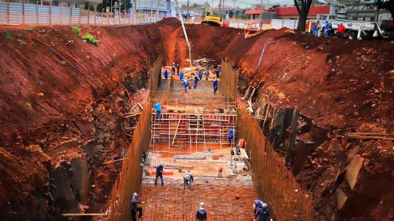 Obra irá beneficiar entre sete e nove mil usuários do transporte coletivo e cerca de 5,4 mil veículos que utilizam as Avenidas, Presidente Vargas e Independência; previsão de conclusão é para o primeiro semestre de 2022