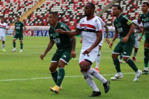 O Botafogo perdeu para o Guarani por 1x0 no estádio Santa Cruz. O lateral esquerdo Pará foi expulso aos 18 minutos do primeiro tempo.