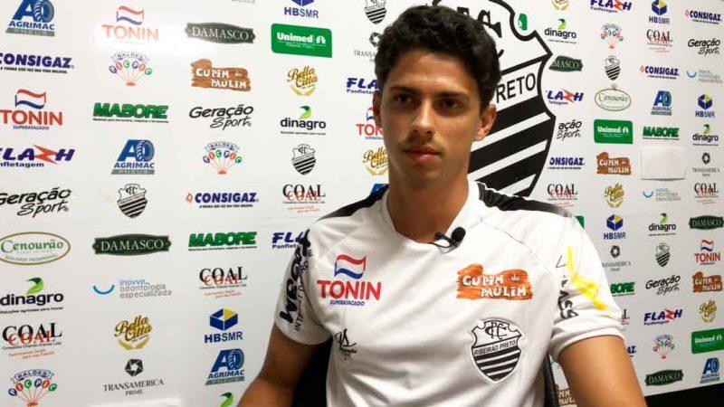 COMERCIAL APRESENTA MAIS UM REFORÇO, CAIO TALARICO. Zagueiro de 23 anos, 1,96 de altura, nascido em Campinas reforça o Comercial para a disputa da série A3 do campeonato paulista.