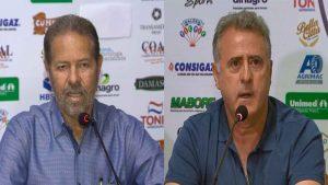Os dois homens fortes do Comercial FC, o presidente Ademir Chiari e o diretor José Lourenço seguem o trabalho pelo clube. Após desabafo no último sábado, dirigentes ressaltam que a luta vai continuar.