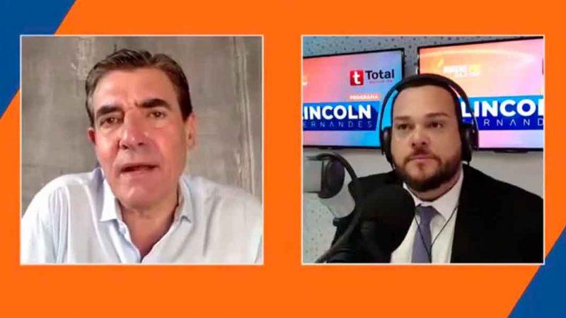 A entrevista com o prefeito Duarte Nogueira foi feita no programa Voz Metropolitana, com Lincoln Fernandes, que estreou na Rede Fé FM 94,9 simultaneamente com a Total FM 106,1 de Sertãozinho e que vai ao ar de segunda a sexta-feira das 06h às 09h.