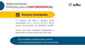 Entenda como vão funcionar as novas medidas da fase emergencial em todo o estado de São Paulo, a partir de segunda-feira, dia 15 de março até 30 de março.