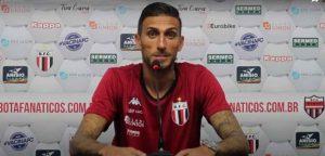 O atacante Rafael Marques, em entrevista coletiva, afirmou que a partida deste sábado, às 19h, no estádio Santa Cruz, contra a Ponte Preta é como se fosse uma final de campeonato.