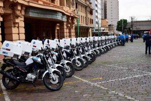 As motocicletas serão adquiridas dentro do Programa Renovação e Ampliação da Frota do Daerp, que já investiu R$ 8,8 milhões