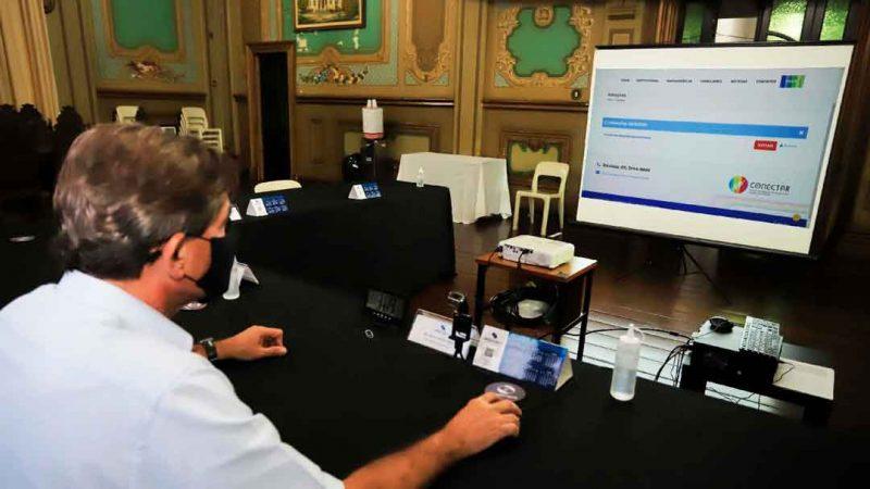 O prefeito de Ribeirão Preto, Duarte Nogueira, realizou a votação para eleger os integrantes da Diretoria e do Conselho Fiscal do Consórcio Conectar liderada pela Frente Nacional de Prefeitos