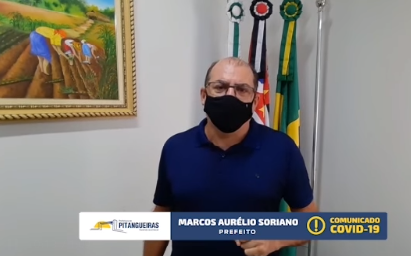 PITANGUEIRAS AUMENTA A RESTRIÇÃO, MAS NÃO ADERE AO LOCKDOWN