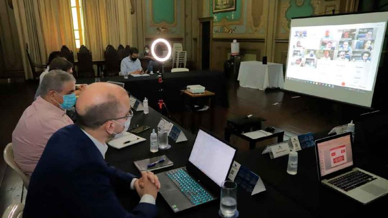 O prefeito de Ribeirão Preto Duarte Nogueira apresentou aos vereadores o projeto da Reforma Administrativa que será encaminhado à Câmara Municipal ainda esta semana