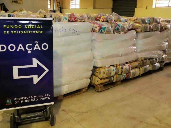 ACIRP DOA DUAS MIL CESTAS BÁSICAS AO FUNDO SOCIAL DE SOLIDARIEDADE