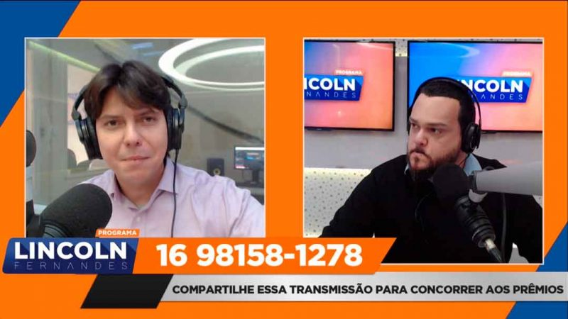 A entrevista foi realizada no programa Voz Metropolitana, com Lincoln Fernandes, na Rede Fé FM 94,9 e Total FM de Sertãozinho 106,1. O programa vai ao ar de segunda a sexta-feira, das 06h às 09h.