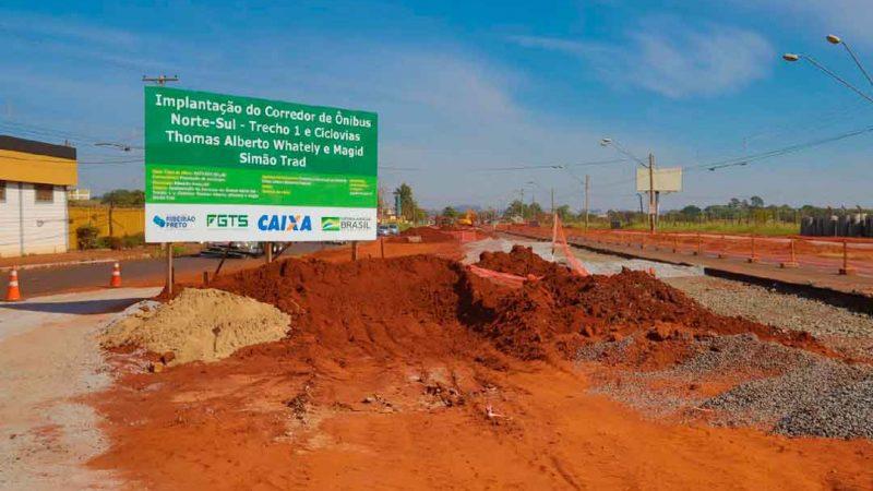 Nogueira e Pegoraro visitaram só as obras que estão em atividade, as três grandes obras paradas não receberam a atenção do poder público