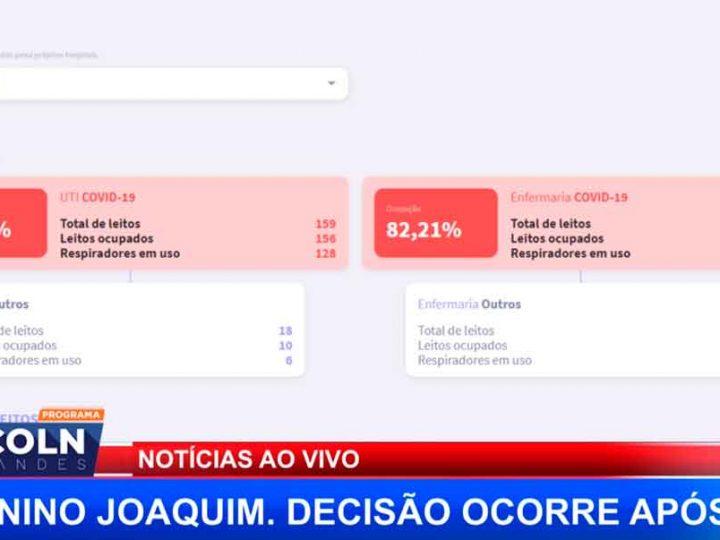 ATUALIZAÇÃO DOS NÚMEROS DE OCUPAÇÃO DE LEITOS EM RIBEIRÃO PRETO