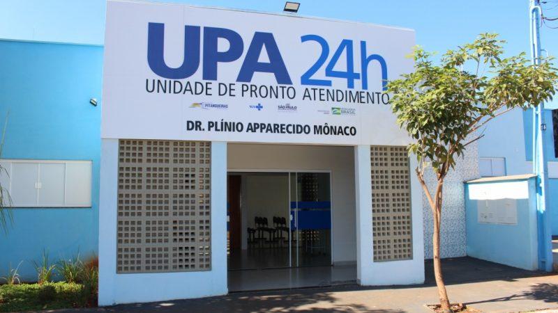 UPA DE PITANGUEIRAS INICIA ATENDIMENTO 24 HORAS
