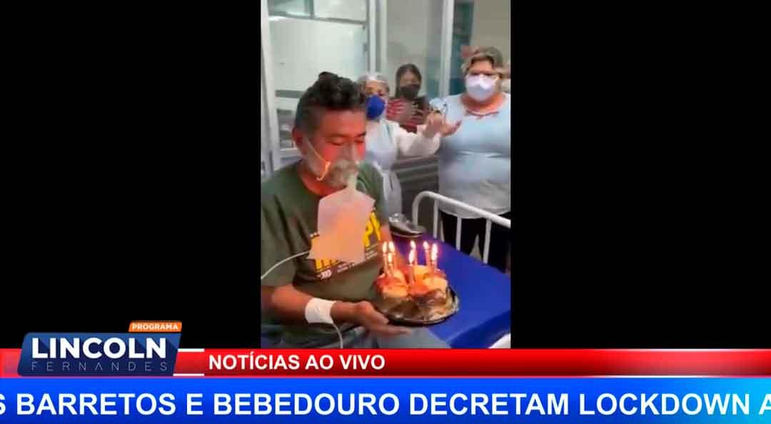 FESTINHA DE ANIVERSÁRIO EM ALA COVID NA CIDADE DE MOSSORÓ RN