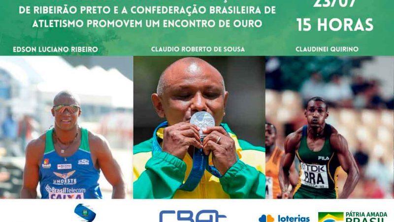 EDUCAÇÃO E CONFEDERAÇÃO BRASILEIRA DE ATLETISMO PROMOVEM ENCONTRO COM ATLETAS OLÍMPICOS