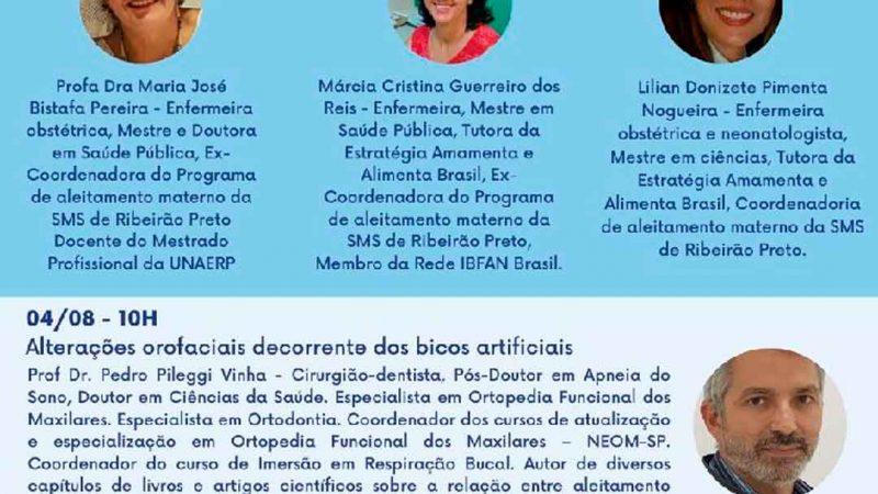 """SAÚDE PROMOVE """"X ENCONTRO MUNICIPAL DE ALEITAMENTO MATERNO DE RIBEIRÃO PRETO"""""""