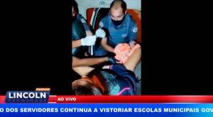 BEBÊ NASCE DENTRO DE VIATURA DA PM EM RIBEIRÃO PRETO