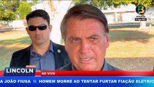 BOLSONARO NÃO CONFIRMA CANDIDATURA E DEMONSTRA PROBLEMAS COM O VICE ELEITO HAMILTON MOURÃO