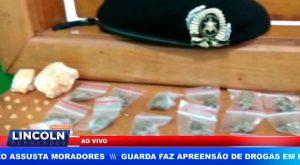 GCM FAZ APREENSÃO DE DROGAS E AUXILIA EM CONTROLE DE INCÊNDIO NO CENTRO DE RIBEIRÃO