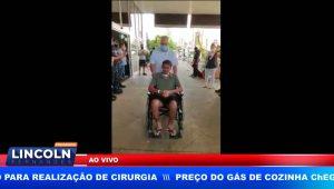 GCM FAZ HOMENAGEM A COLEGA QUE TEVE ALTA DE HOSPITAL APÓS DIVERSAS CIRURGIAS
