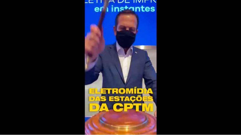 GOVERNADOR DE SÃO PAULO ANUNCIA MAIS CONCESSÕES À INICIATIVA PRIVADA