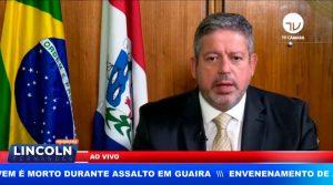 O PRESIDENTE DA CÂMARA FEZ PRONUNCIAMENTO FIRME FRENTE AS AMEAÇAS DO PRESIDENTE BOLSONARO