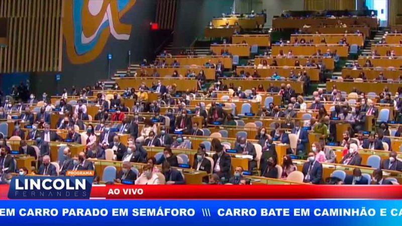 RESUMO DO DISCURSO DE JAIR BOLSONARO NA ONU