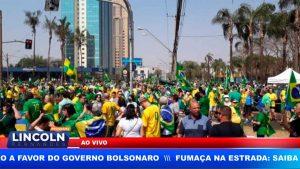 RIBEIRÃO TEM MANIFESTAÇÃO A FAVOR DO GOVERNO BOLSONARO