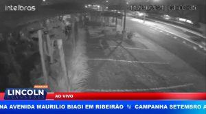 MOTORISTA DERRUBA 2 POSTES E UMA FLORICULTURA NA AVENIDA MAURILIO BIAGI EM RIBEIRÃO