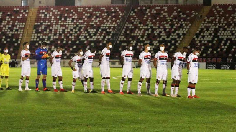 Na volta da torcida botafoguense ao Santão após 598 dias, o Botafogo empatou com o Noroeste por 0 a 0, nesta quarta-feira (27), assegurou a classificação para a semifinal da Copa Paulista e vai encarar a Portuguesa neste domingo (31), às 16h, no Canindé, em São Paulo, pela partida de ida. O jogo de volta está programado para a próxima quarta-feira (3), às 19h, no Estádio Santa Cruz.
