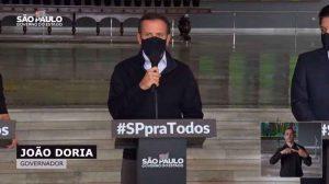 SÃO PAULO ANUNCIA NOVO DIA V DA 2ª DOSE DA VACINA CONTRA COVID